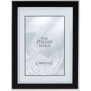 "Lawrence Frames Verona Collection 8"" x 10"" Metal Black Picture Frame (747080)"