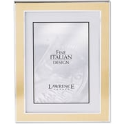 """Lawrence Frames Verona Collection 8"""" x 10"""" Metal Gold/Silver Picture Frame (748080)"""