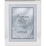 "Lawrence Frames Verona Collection 8"" x 10"" Velvet/Metal Picture Frame (750080)"