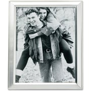 """Lawrence Frames 4"""" x 5"""" Metal Silver Picture Frame (750145)"""