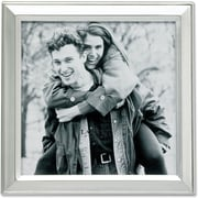 """Lawrence Frames 5"""" x 5"""" Metal Silver Picture Frame (750155)"""