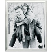 "Lawrence Frames 8"" x 10"" Metal Silver Picture Frame (750180)"
