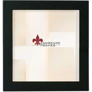 "Lawrence Frames 5"" x 5"" Wooden Black Picture Frame (755555)"
