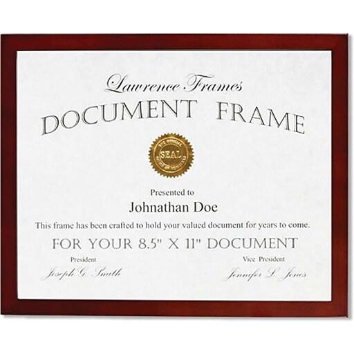 Lawrence Frames 8.5\