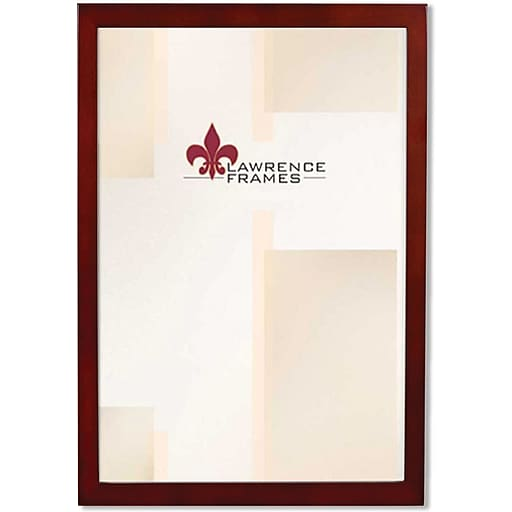 8x12 Walnut Wood Picture Frame - Gallery Collection | Staples