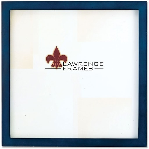 755788 Blue Wood 8x8 Picture Frame - Gallery Collection | Staples