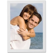 """Lawrence Frames 11"""" x 14"""" Studio Wood White Picture Frame (755811)"""