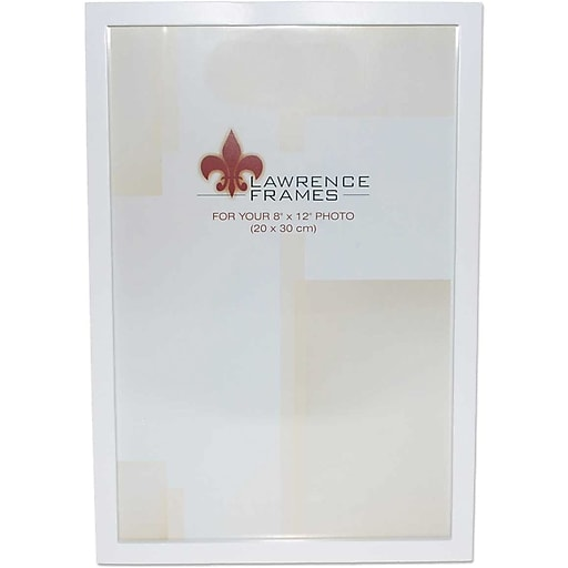 8x12 White Wood Picture Frame - Gallery Collection | Staples
