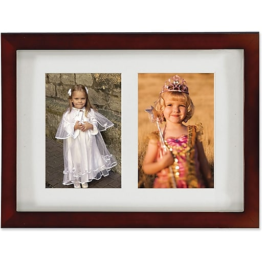 Lawrence Frames Images Collection 4 X 6 Wood Walnut Brown Double