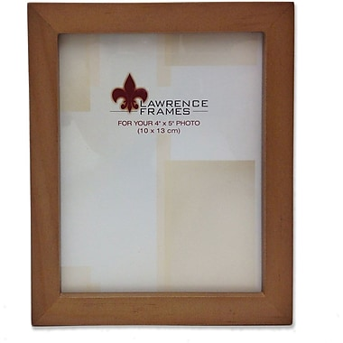 766045 Nutmeg Wood 4x5 Picture Frame - Gallery Collection
