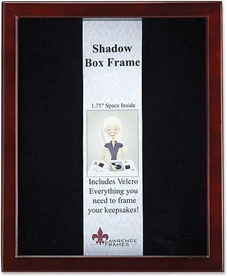 790180 Espresso Wood Shadow Box 8x10 Picture Frame