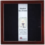 790188 Espresso Wood Shadow Box 8x8 Picture Frame
