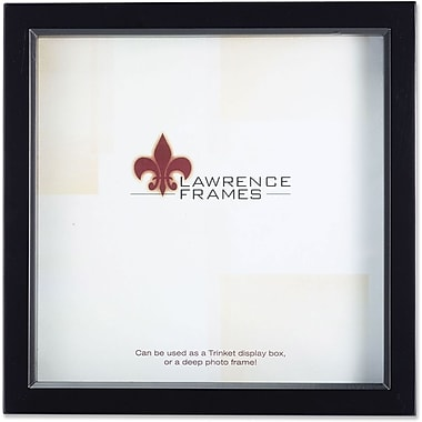 Lawrence Frames Wooden Brown Treasure Shadow Box Frame (7951)