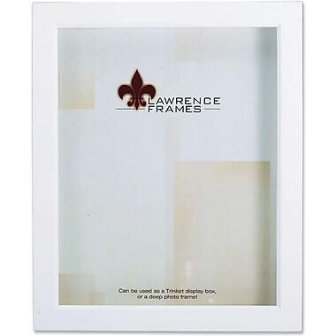 795257 White Wood Treasure Box Shadow Box 5x7 Picture Frame