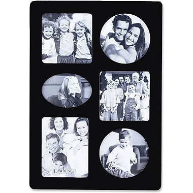 Lawrence Frames Assorted Sizes Wood Multi-opening Picture Frame (834469)
