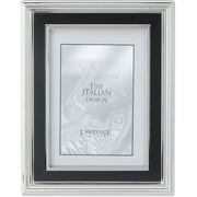 "Lawrence Frames Verona Collection 4"" x 6"" Metal Silver Picture Frame (840146)"
