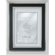 "Lawrence Frames Verona Collection 8"" x 10"" Metal Silver Picture Frame (840180)"