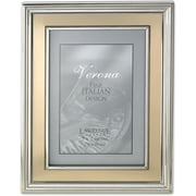 "Lawrence Frames Verona Collection 5"" x 7"" Metal Gold Picture Frame (840257)"