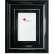 Dimensional Rustic Black Wood 4x6 Picture Frame