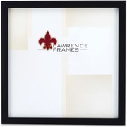 "Lawrence Frames 12"" x 12"" Wooden Black Picture Frame (755512)"