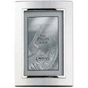 """Lawrence Frames Verona Collection 4"""" x 6"""" Metal Silver Domed Picture Frame (760246)"""
