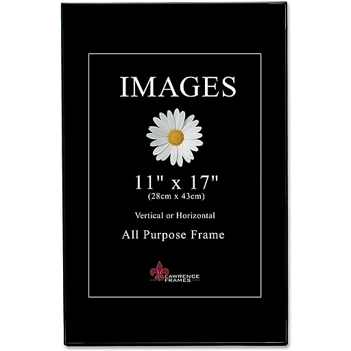 Lawrence Frames Image Collection 11 X 17 Plastic Black Picture