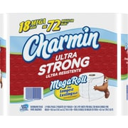 Charmin® Ultra Strong™ Bathroom Tissue, 18 Mega Rolls