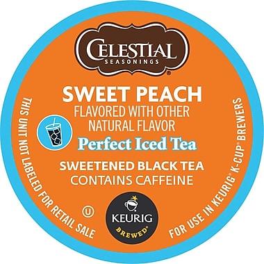 Keurig® K-Cup® Celestial Seasonings® Sweet Peach Iced Tea, 24/Pack