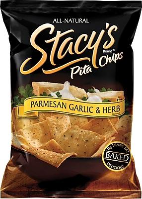 Stacy's® Parmesan Garlic & Herb Pita Chips, 1.5 oz. Bags, 24 Bags/Case