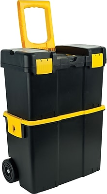 Trademark Tools™ Stackable Mobile Tool Box with Wheel, 10