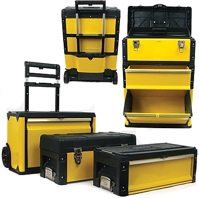 Trademark Tools™ 3-in-1 Oversized Portable Tool Chest, 28