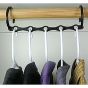 "Trademark Global Set of 10 Magic Hanger, 15"" x 3"" x 7/9"""