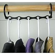 "Trademark Global Set of 10 Magic Hanger, 15"" x 3"" x 7/9"""