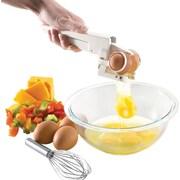 "EZ Cracker™ Egg Cracker and Separator, 1 3/4"" x 3 7/8"" x 8 1/2"""