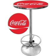 """Coca-Cola Pub Table, 28"""" dia x 1"""""""