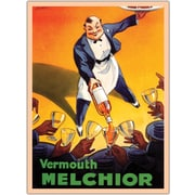 "Trademark Global Dorfi ""Vermouth Melchio"" Gallery Wrapped Canvas Art, 24"" x 32"""