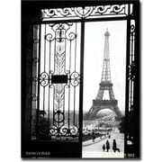 "Trademark Global ""Views of Paris"" Canvas Art, 24"" x 32"""