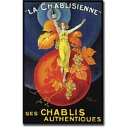 """Trademark Global """"La Chablisienne"""" Gallery Wrapped Giclee on Canvas Art, 18"""" x 24"""""""