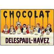 "Trademark Global ""Chocolate Delespaul Havez"" Canvas Art, 32"" x 47"""