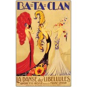 "Trademark Global Jose de Zamora ""Bataclan"" Canvas Art, 24"" x 32"""