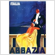 "Trademark Global ""Italia Abbazia"" Canvas Art, 18"" x 24"""