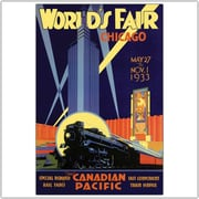 "Trademark Global ""Chicago World's Fair"" Canvas Art, 24"" x 32"""