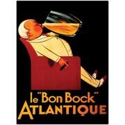 "Trademark Global ""Bock Le Bon Bock"" Canvas Art, 24"" x 32"""