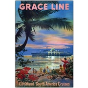 "Trademark Global ""Graceline"" Canvas Art, 32"" x 47"""