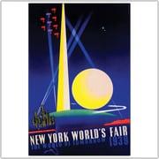 "Trademark Global ""New York World's Fair 1939"" Canvas Art, 24"" x 32"""