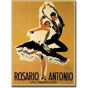 "Trademark Global ""Rossario and Antonio"" Canvas Art, 18"" x 24"""