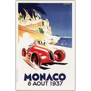"Trademark Global ""Monaco 8 Aout 1937"" Canvas Art, 24"" x 32"""