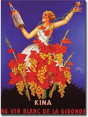 "Trademark Global Robys-Robert Wolff ""Kina Lillet"" Canvas Art, 24"" x 32"""