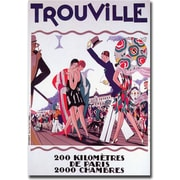 "Trademark Global ""Trouville"" Canvas Art, 24"" x 32"""