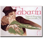 "Trademark Global ""Tabarin"" Canvas Art, 24"" x 32"""
